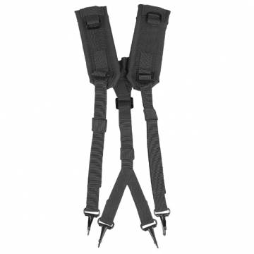 Mil-Tec US LC2 Suspenders - Black