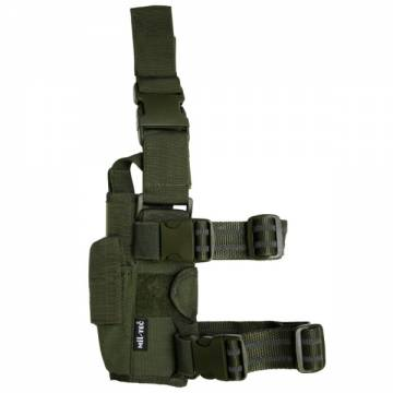 Mil-Tec Adjustable Leg Holster Cordura - Olive