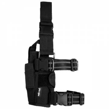 Mil-Tec Adjustable Leg Holster Cordura - Black