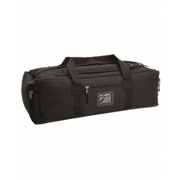 Mil-Tec Combat Duffle Bag - Black