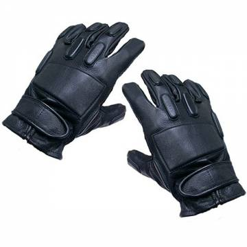 King Arms SWAT Leather Gloves-Full Finger