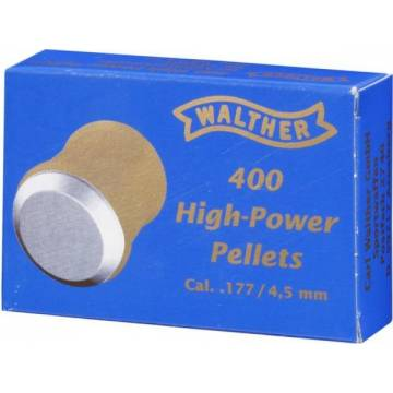 Walther High Power 4,5mm Pellets - 400pcs