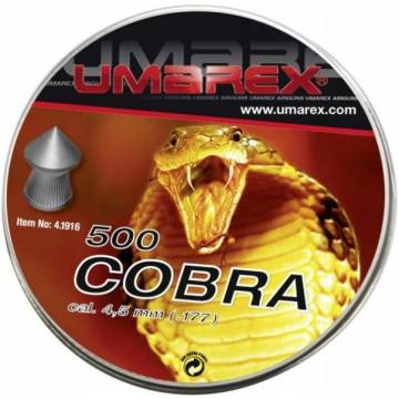 Umarex Cobra 4,5mm Pellets - 500pcs