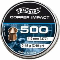 Walther Copper Impact 4,5mm Pellets - 500pcs