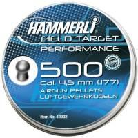 Hammerli Field Target Performance 4,5mm Pellets - 500pcs