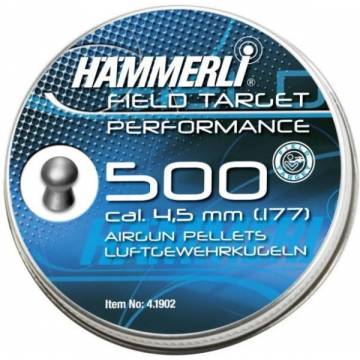 Hammerli Field Target Performance 4,5mm Pellets - 500pcs