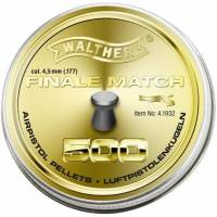 Walther Finale Match 4,5mm Pellets - 500pcs