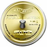 Walther Finale Match 4,5mm Pellets - 500pcs