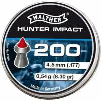 Walther Hunter Impact 4,5mm Pellets - 200pcs