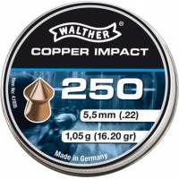 Walther Copper Impact 5,5mm Pellets - 250pcs