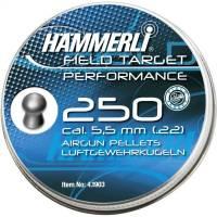 Hammerli Field Target Performance 5,5mm Pellets - 250pcs