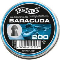 Walther Baracuda 6,35mm Pellets - 200pcs