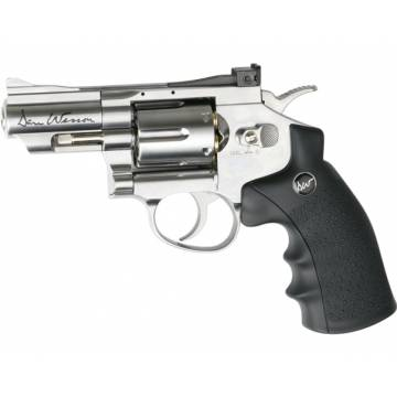 Dan Wesson 2,5 Inch 4,5mm Silver (Pellets) Full Metal