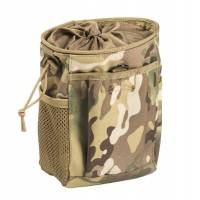 Mil-Tec Molle Empty Shell Drop Pouch - Multicam