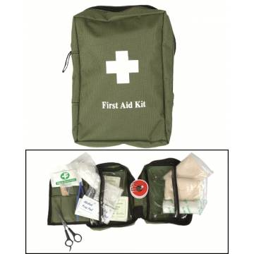 Mil-Tec First Aid Kit Large - Olive