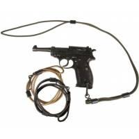 Mil-Tec Pistol Lanyard Cord - Black