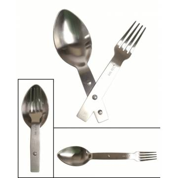 Mil-Tec Fold Eating Unten Stainless Steel