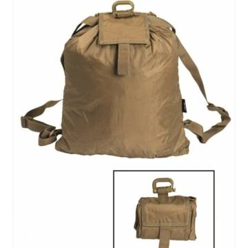 Mil-Tec Roll Up Rucksack - Coyote