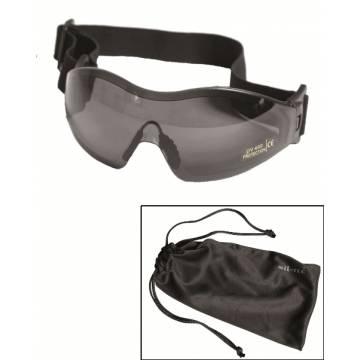 Mil-Tec Para Protective Goggles - Smoke