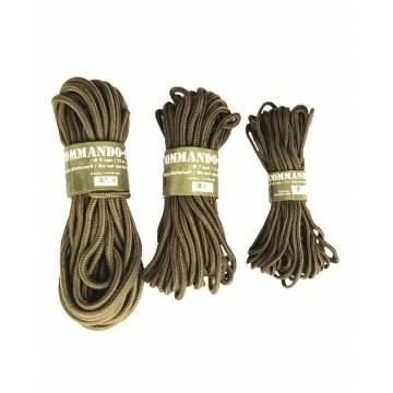 Mil-Tec 5mm Commando Rope 15M - Coyote