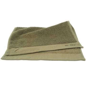 Mil-Tec Terry Facecloth 30x30cm - Olive
