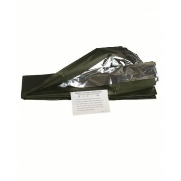 Mil-Tec Survival Blanket - Olive / Silver