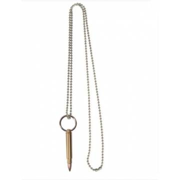 Mil-Tec Necklace w/ Large Cartridge