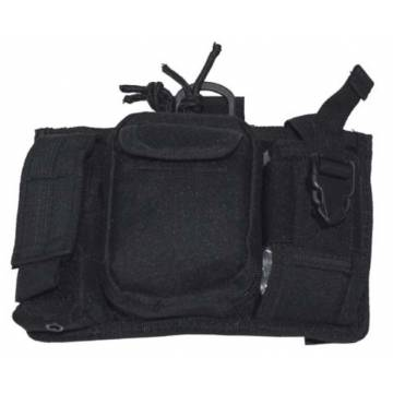 MFH Molle Mobile Phone Bag - Black