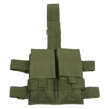 MFH Tactical Leg Double Magazine Pouch - Olive