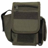 MFH Belt Pouch 3 Compartments - Olive