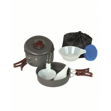 Mil-Tec Cook Set Anodized 1 Person