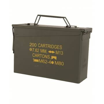 Mil-Tec US M19A1 Cal 30 Ammo Steel Box