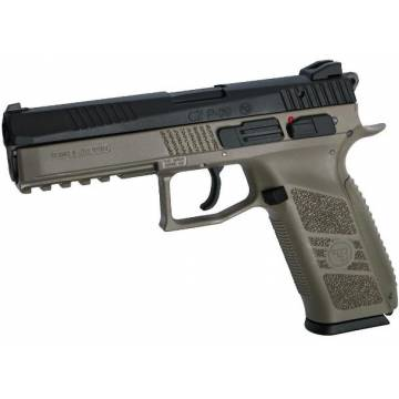 CZ P-09 (Blowback) FDE / Black w/ Case - Metal Slide