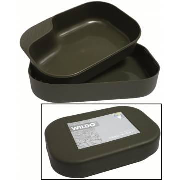 WILDO Camp a Box Mess Kit - Olive