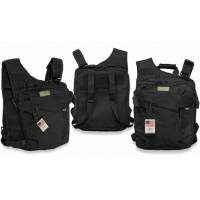 MFH Vest / Backpack / Handbag - Black