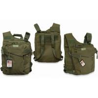 MFH Vest / Backpack / Handbag - Olive