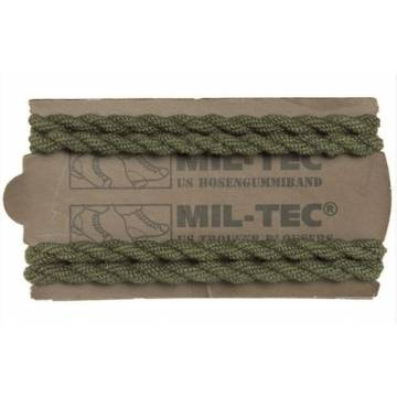Mil-Tec Elastic Trouser Twisters (2 Pairs) Olive