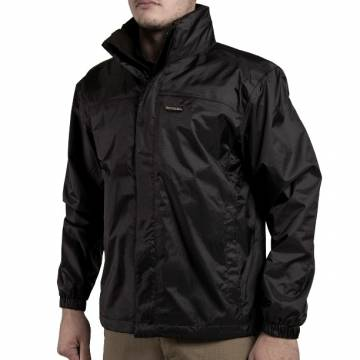 Pentagon Breathable Atlantic Rain Jacket  - Black