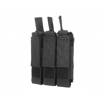 MP5 / MP7 Triple Magazine Pouch - Black