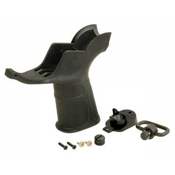 M4 Pistol Grip w/ QD Sling Swivel - Black