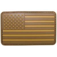 PVC 3D USA Flag - Desert