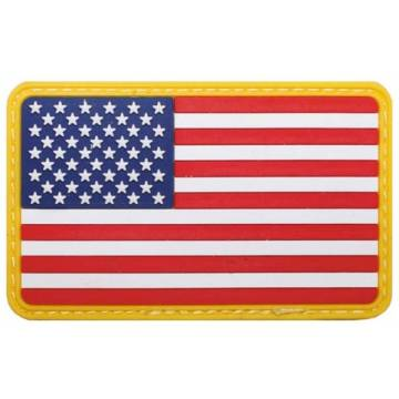 PVC 3D USA Flag - Full Color