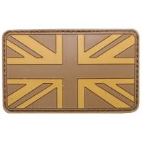 PVC 3D UK Flag - Desert
