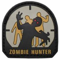 PVC Zombie Hunter Velcro Patch