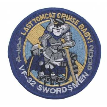 Embroidery VF 32 Swordsmen 3 Patch