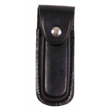MFH Knife & Tool Leather Pouch - Black