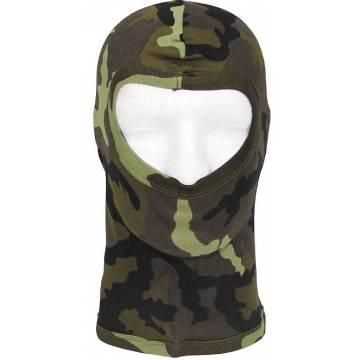 MFH Balaclava One Hole Cotton - M95 CZ Camo