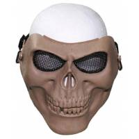 MFH Skull Skeleton Protector Mask - Coyote