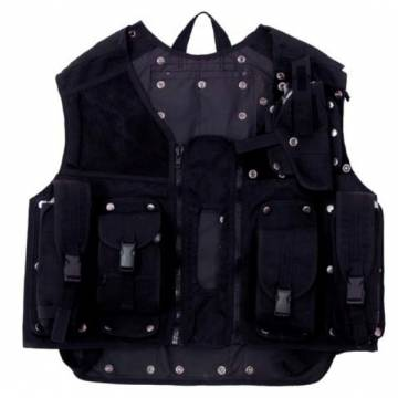 MFH SWAT Tactical Vest - Black