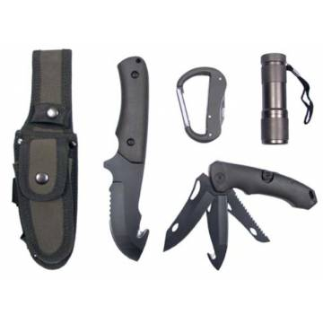 MFH Knife Set & Multi Tools - Olive